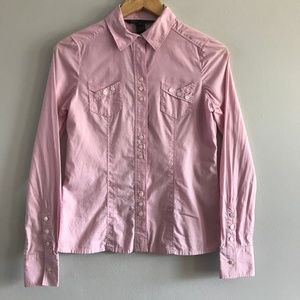 Marc Jacobs Button Down Shirt Light Pink Size 2
